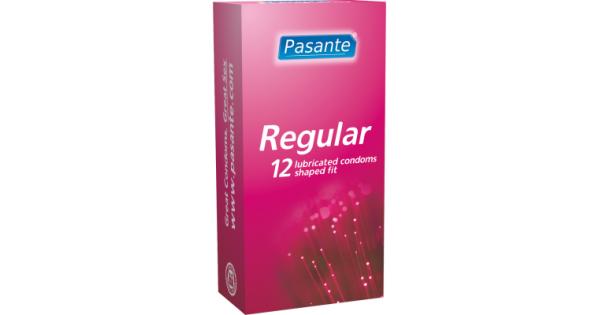 Preservativi Pasante Transparant Pasante Regular Preservativi 12 Pz